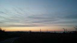 여명의 비행 | 공릉천 아침풍경