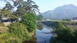 문장대 야영장 산책로 | 향기로운 아침