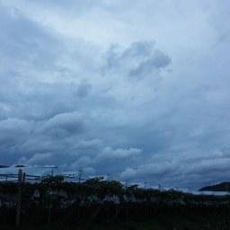 비갠후 | 구름수채화