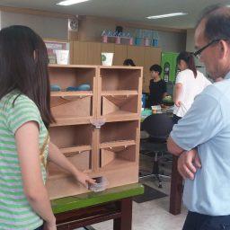 자동 청소 회전 신발장 | 전국학생과학발명품경진대회
