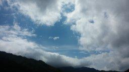 비갠후 타임랩스 | 구름이 춤춘다