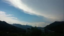 올림푸스의 신들의 나라 | 오후의 구름풍경