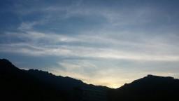저녁 산책 풍경 | 여름밤 하늘