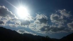 뜬구름 가득한 오후 | 하늘 풍경
