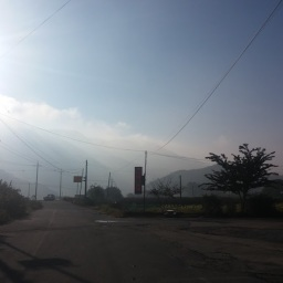 도장산 아침 풍경 | 내유천지(內有天地) 외무소구(外無所求)