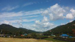 한가위 하늘 풍경 | 하늘 가득 풍성한 뭉게구름