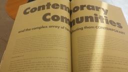 Contemporary  Communities | 공동체가 있는 곳이야말로 사람이 살기 좋은 곳이다